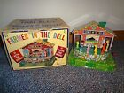Mattel vintage Tin Farmer in the Dell wind up toy with box