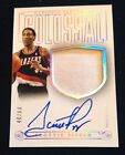 2013-14 13-14 Panini National Treasures Colossal Jersey Auto SCOTTIE PIPPEN 60!