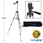 I3ePro Full Size 50 inch Tripod W Leveler Adjust  Carrying Case for SLR Cameras