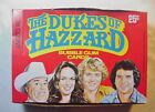 RARE FULL BOX OF 1981 THE DUKES OF HAZZARD TRADING CARDS 36 UO WAX PACKS INSIDE