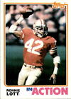 Ronnie Lott Cards, Rookie Card and Autographed Memorabilia Guide 16
