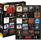 AC/DC Discography 1000 Piece New Jigsaw Puzzle