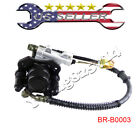 Rear Brake Assembly Master Cylinder Caliper 50cc 90cc 110 125cc chinese ATV Quad