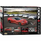 Corvette Runs in the Family 1000 Piece New Jigsaw Puzzle