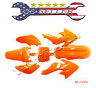 Orange Plastic Fairing Kit honda CRF XR 50 110 125CC SSR SDG 70 Dirt PIT BIKE