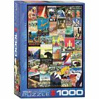 Travel USA Vintage Posters 1000 Piece New Jigsaw Puzzle