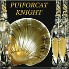 Puiforcat Masterpiece French Sterling Silver Vermeil Strawberry Spoon Knight
