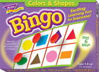 Trend Enterprises Colors and Shapes Bingo Game - Set of Cards and 250 Markers -