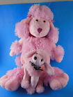 Golden Bear Co Very NICE Pink Poodle AND Mint With Tag Ty beanie babies Brigitte