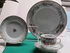 Christmas Village by Royal Worcester fine English china 4-place settings of 4pc.
