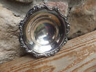 Vintage Old English By Poole Ornate decorated Silver Plate Bowl  5005 - 6 1/2