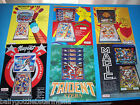 Lot Of 6 ORIGINAL STERN PINBALL MACHINE FLYERS MEMORY LANE NUGENT MAGIC set  #36