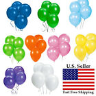100pcs 12 inch 12 colorful Latex Thickening Wedding Party Birthday Balloon US
