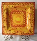 Pier One 1 Karistan Hand Painted Earthenware Platter 13