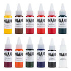 Dynamic Color tattoo Color ink set in 1 oz Pigments Made in USA Set 2