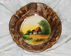 ANTIQUE BELGIUM HAND PAINTED BOWL #179 - SIGNED - EXQUISITE PIECE-MINT CONDITION