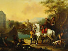 Original Antique 18th Cent Old Master Oil Painting Certificate of Authenticity.