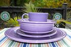 Fiesta RETIRED LILAC 5-Piece Dish Setting ~
