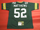 CLAY MATTHEWS AUTOGRAPHED GREEN BAY PACKERS JERSEY AASH