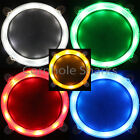 Set of 2 Cornhole LED Night Lights Corn Hole Bean Bag Toss Board Game Lights NEW