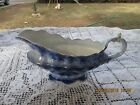 TOURAINE FLOW BLUE ENGLISH  HENRY ALCOCK GRAVY BOAT