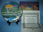 CLASSIC TREASURE COTTAGE SCENE PORCELAIN  COLLECTIBLE PLATE