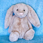 Jellycat Bashful Beige Bunny Rabbit 12 Medium Plush Tan Stuffed Animal Soft Toy