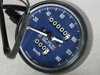 Honda XL 125 175 Speedometer Blue Face 140 km/h Metric 1973 1974 NOS