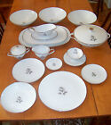 Saladmaster Estate Porzellan Bavaria Remembrance Platinum Trim China 66 Pc Set