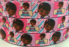 7/8'' 22mm Doc Mcstuffins printed grosgrain ribbon hair bow diy sewing gifts