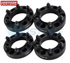 4 125 Hubcentric Black Wheel Spacers Adapters 6x55 for Tacoma 4 Runner FJ