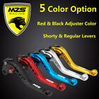 MZS Short/Long CNC Clutch Brake Lever For Ducati MONSTER 1200/S/R MTS1100/S S4RS