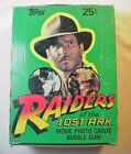 1981 FULL BOX RAIDERS OF THE LOST ARK INDIANA JONES MOVIE CARDS 36 UO WAX PACKS