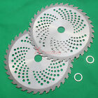 2Pk 9 Carbide Tip Brush Cutter Trimmer Blade 36T with arbor Washer