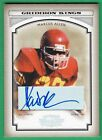 MARCUS ALLEN AUTOGRAPH 2006 Donruss Threads AUTO (HOF) USC Chiefs Raiders
