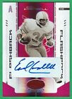 EARL CAMPBELL AUTOGRAPH 2004 Leaf Certified MIRROR RED AUTO (HOF) Oilers 07 20