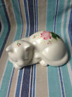 Hand Painted Lasting Products Made in USA Ceramic Sleeping Cat