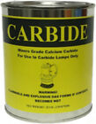 NEW 2 LB Can CALCIUM CARBIDE for Lamps Fire Start Gun Miners Grade TWO POUNDS