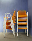 1 of 27 VINTAGE 1960 1970 CAFE BAR BISTRO RESTAURANT GARDEN STACKING CHAIRS