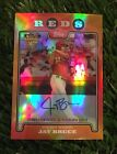 Jay Bruce 2008 Topps Chrome Red Hot Rookies Auto RC Autograph Rookie