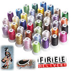 Machine Embroidery Thread Polyester 39 Spools Colors Lot Each Brother