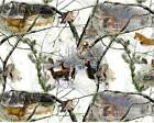 Fleece Fabric Winter Forest RealTree Style 1502 60 Wide