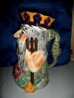 Sons Staffordshire England Hand Painted Large JUG