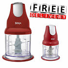 Ninja Food Processor Pro Chopper Mixer Express Smoothie Master Prep Blender