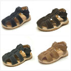 Brand New Toddler Boys Fisherman Cribs Sandals Size 7 12