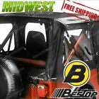 51118 01 Bestop Soft Replace A Top with Clear Windows For 1976 1986 Jeep CJ 7