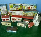 1952 USA PLASTICVILLE  Post Office Fire Dept. Church Supermarket House Gas Farm
