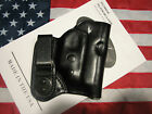 ETW Sig P238 w Sig Laser IWB holster w clip tuckable RHLH black leather