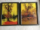 Two Oil Paintings By Listed Artisit Morris Katz