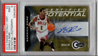 2010-11 Panini Totally Certified Derrick Rose Autograph PSA Graded Bulls 25 SP